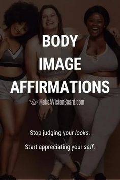 When you have a poor body image it affects every area of your life. Discover the downfalls and how these affirmations can help you develop a more positive body image.
