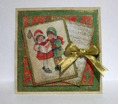 Caroling by gregzgurl - Cards and Paper Crafts at Splitcoaststampers