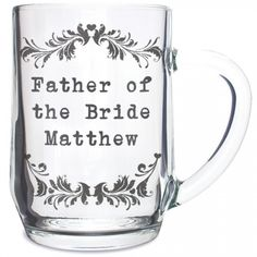 Personalised Vintage Glass Tankard  from Personalised Gifts Shop - ONLY £9.99