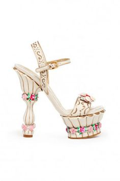 - Ladies whats your thoughts on these floral detail shoes for next fall?