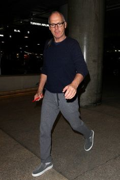 Michael Keaton seen at LAX on February 05, 2015 in Los Angeles, California.