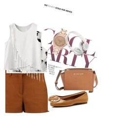 the ultimate casual wear by srirvaishnavi on Polyvore featuring polyvore fashion style Chicnova Fashion Emilio Pucci Tory Burch MICHAEL Michael Kors River Island Beats by Dr. Dre clothing