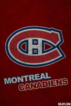 Montreal Canadiens!! My Canadian NHL team!! <3