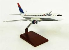 B737-800 Delta - Premium Wood Designs #Commercial #Aircraft premiumwooddesigns.com