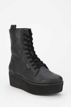 Y.r.u. Bloq Lace-up Flatform-boot
