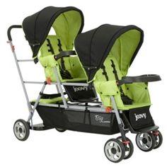 Peg Perego Triplette SW Java Standard Triple Seat Stroller ...