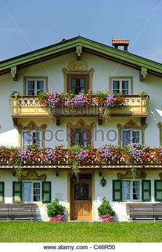 Traditional German Houses | German Architecture Home Farmhouse Stock Photos & German Architecture ...