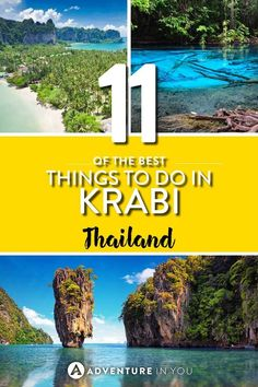 Looking for places to visit in Thailand? Here is our top list of unusual places to add to your Thailand bucket list. Although traveling Thailand is. Thailand Vacation, Thailand Travel Guide, Krabi Thailand, Visit Thailand, Asia Travel, Thailand Honeymoon, Koh Phangan, Phuket, Bangkok