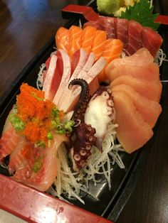 O' Sushi - Newark, CA, United States. 30 piece boat sashimi for 35.95!