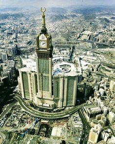 Mekkah, Islamic World, Madina, Islamic Pictures, Mosque, Big Ben, Architecture, City, Building