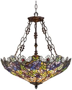Floral Garden 3-Light Tiffany Glass Bowl Pendant Robert Louis Tiffany http://www.amazon.com/dp/B0090KLG6S/ref=cm_sw_r_pi_dp_.HQ8tb0CEH9ST
