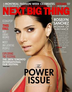 The Fall 2013 Issue is scheduled to be released third week in October 2013. The Fall issue has a lot of discussions on Canadian cooking/recipes from Canadian Top Chefs, International Music Entertainers in the U.S and the U.K. Find out what our cover feature - Hollywood actress, Roselyn Sanchez has to say about her career journey, her current state in terms of lifestyle - travel, and family.