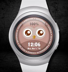 Cutie Owl – Watchfaces by Fischbein Smart Watch, Owl, Smartwatch, Owls