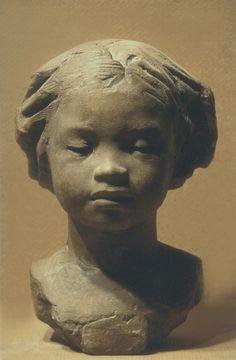 The face of the support gwonjingyu Sculpture Head, Sculptures Céramiques, Pottery Sculpture, Statues, Carpeaux, Modelos 3d, Terracota, Ceramic Figures, Wow Art