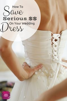 How to Save Money on Your Wedding Dress: Don't fall into the trap of spending thousands on your wedding gown.  Instead, reimagine a family  heirloom! http://www.budgetblonde.com/2014/05/01/saved-money-on-my-wedding-dress/
