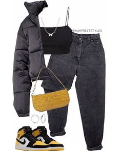Baddie Outfits Casual, Swag Outfits, Mode Outfits, Cute Casual Outfits, Stylish Outfits, Grunge Outfits, Tomboy Fashion, Teen Fashion Outfits, Retro Outfits