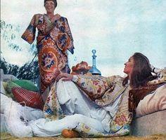 Thalita and Paul Getty in Marrakesh