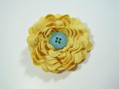 Ric Rac Flowers- Super cute and easy!