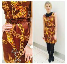 Frankie goes #Vintage with a dress she bought at #clothesshowlive a few years ago! #Frankiesaysshop