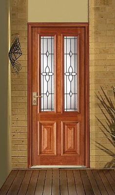 Our front doors will be like this but painted off white