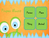 This is a free sorting activity  for common and proper nouns.