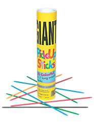 Pick-Up Sticks are a great way for children to develop hand-eye coordination while having fun and learning to interact with others. And unlike the plastic ones sold in stores, these are made of wood-just like the sticks you once owned.