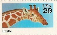 US 2705 Wild Animals - Giraffe 29c MNH 1992