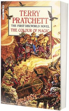 the colour of magic is the 1st book in the discworld series and a good read - The Color Of Magic Book
