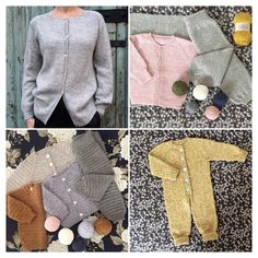 New patterns In English Are now available In my Ravelry store PixenDk ❤️ Happy knitting Love W ❤️ #knitting #knittingpatterns #ravelry #pixendk strik #stricken #sticka #strikk #knitter #tricoter #neuloa #prjóna #neuleet #sleepsuit #knitwear #yooverpants #yoovercardigan