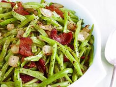 Sweet and Sour Green Beans | AS Served By: Christy Jordan's Southern Plate | Try this simple spin on a classic Southern side. | From: yearofalabamafood.com