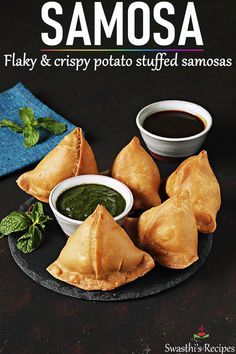 Samosa is an immensely popular snack from India. Make the best crunchy, flaky and delicious potato stuffed samosas with this easy recipe. Easy Samosa Recipes, Spicy Recipes, Beef Recipes, Vegetarian Recipes, Cooking Recipes, Samosa Recipe Videos, Snacks Recipes, Recipes Dinner, Easy Recipes