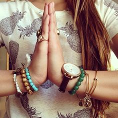 May your week be filled with positivity and light #tasselstone #yogajewelry