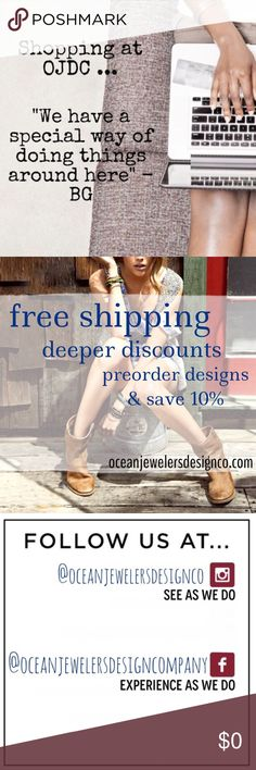 best of the best ▫️Buy 2 Get 1 Free Jewelry • Custom Bundle Required ▫️PreOrderNow & Restock info available on Facebook  ▫️FACEBOOK @oceanjewelersdesigncompany ▫️INSTAGRAM @oceanjewelersdesignco OJDC Jewelry