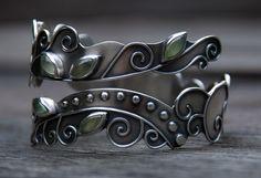 Spiralling Vines Bracelet ( Etsy:: http://www.etsy.com/listing/59617371/spiralling-vines-bracelet )