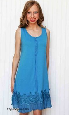 4966a45553a Kyle Ladies Tunic Dress In Turquoise Pretty Angel Tops Pretty Angel Clothing
