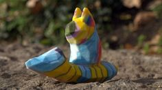 Crayon Creatures turns children's drawings into 3D printed sculptures