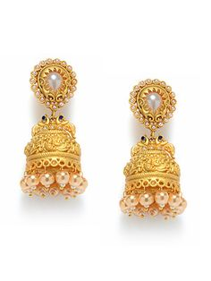 Jhumka earrings online shopping India | Buy fashion ear rings ...