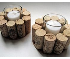 Wine Cork Votives