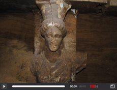 Αρχαία Αμφίπολη: Αποκαλύφθηκαν δύο εξαιρετικής τέχνης καρυάτιδες