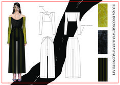 madalina buzas on Behance Fashion Portfolio Layout, Fashion Design Sketchbook, Fashion Sketches, Portfolio Examples, B Fashion, Fashion Flats, Fashion Illustration Collage, Fashion Illustrations, Fashion Sketch Template