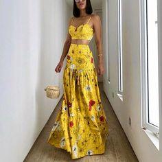 Night Outfits, Summer Outfits, Summer Dresses, Beachwear Fashion, Boho Fashion, Skirt Outfits, Chic Outfits, Trendy Dresses, Fashion Dresses