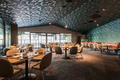 Nick & Stef's Steakhouse by Arte reference projects by design firm Beleco #beleco #belecodesign #patinarestaurantgroup