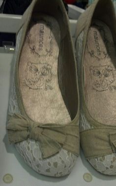 Possible wedding shoes at Maurice's