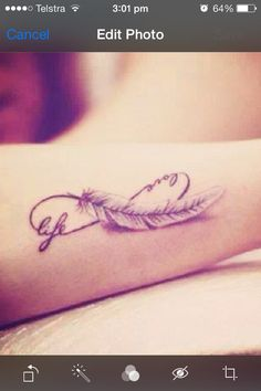 Getting this on my wrist but it will say love and Louis instead of love and life! Louis is my life<3