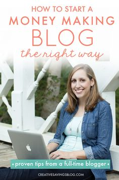 "I've read hundreds of ""How to Start a Blog"" posts, but this one is by far the BEST one out there! She offers real tips to get started, {not just technical know-how}, and even includes how to create your own blog mission statement—something I never thought of before! I'm definitely saving up for the course she mentions at the end. It's exactly what I need to take my blog to the next level!"