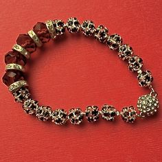 $15.00. SMOKY TOPAZ BRACELET by MimiJewels on Etsy. Favorite vendor.