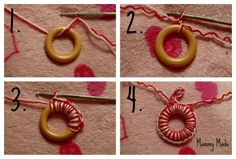 """crochet curtains made with yarn 