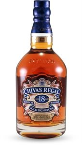Chivas Regal 18 Year Old Gold Signature Scotch Whisky