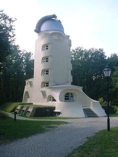 Einstein Tower by Eric Mendelsohn