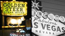 Golden Steer Steakhouse in Las Vegas......well worth the short cab ride off the strip